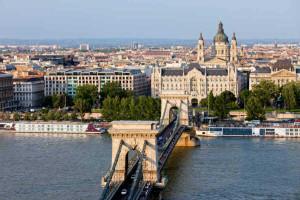 Budapest - bridge view