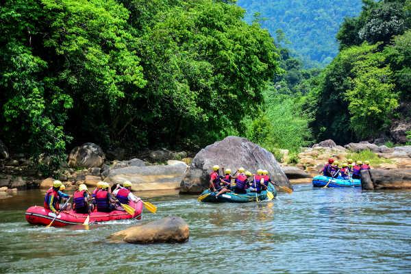 Vltava rafting