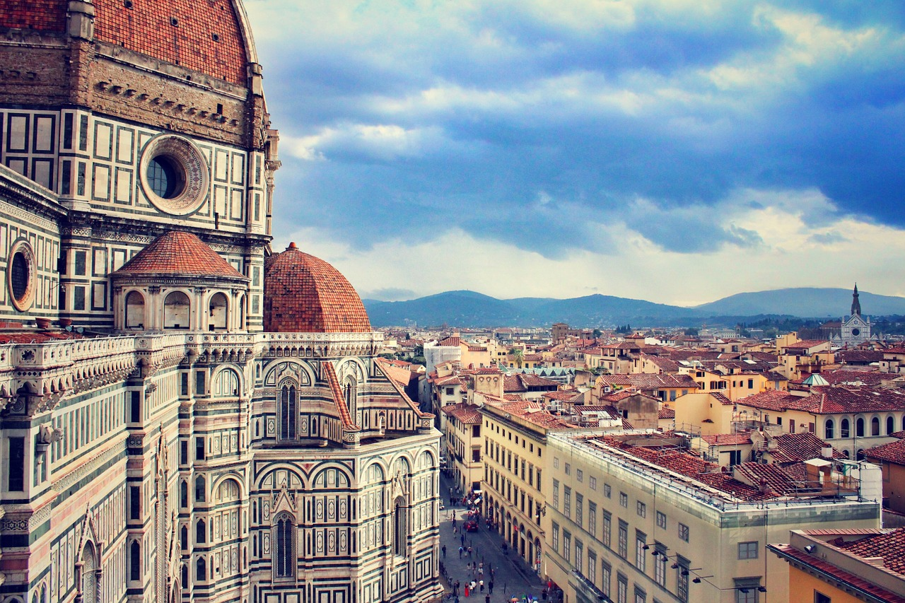 Bus rental Florence Italy