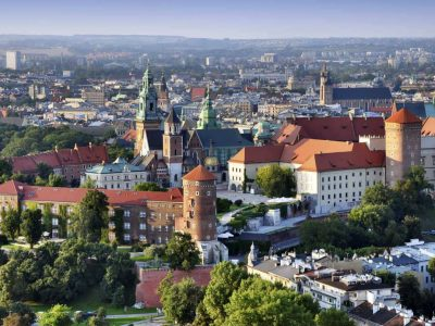 Bus rental Krakow Poland