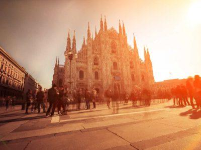 Bus rental Milan Italy